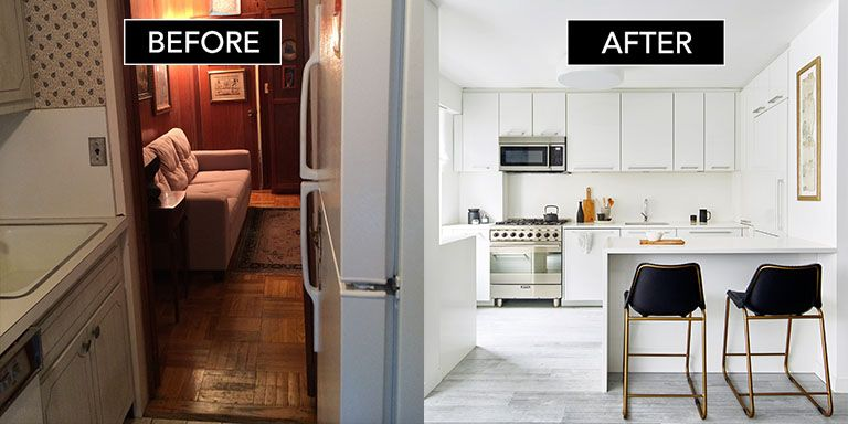 Before After An Interior Expert Got Crafty With Small Apartment Design And Created Her Dream Nyc Loft