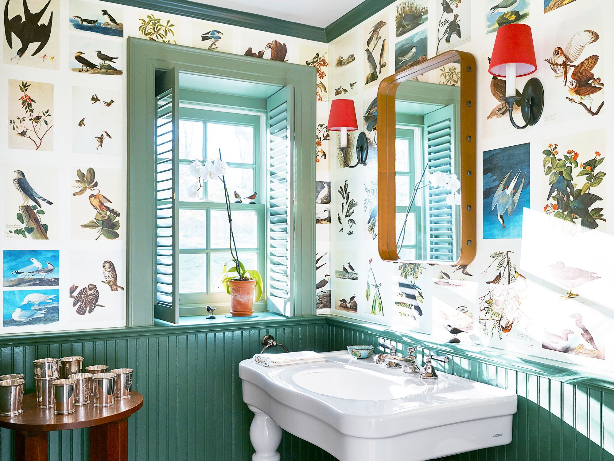 18 Small Bathroom Paint Colors We Love Colorful Powder Rooms,7 Quick And Easy Kitchen Cleaning Ideas That Really Work