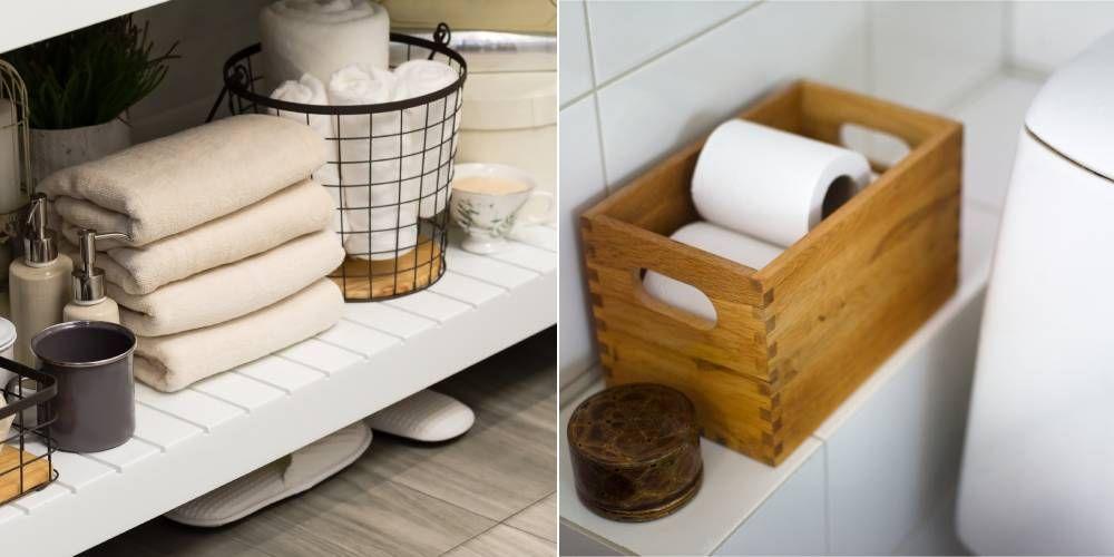 20 Small Storage Ideas For Bathrooms Bathroom Storage Ideas