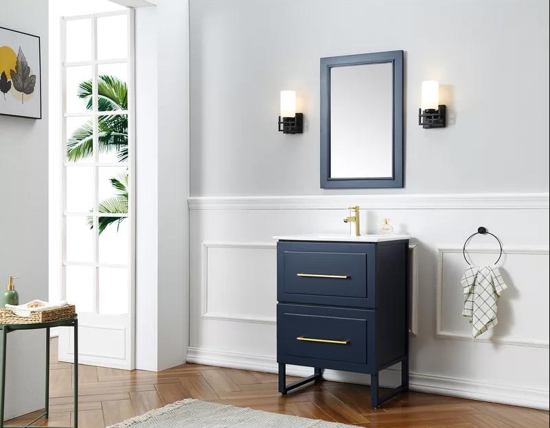 House Beautiful & 15 Small Bathroom Vanities Under 24 Inches - Vanities for Tiny Bathrooms
