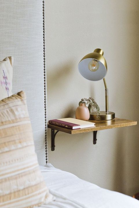 small bedroom ideas floating shelf