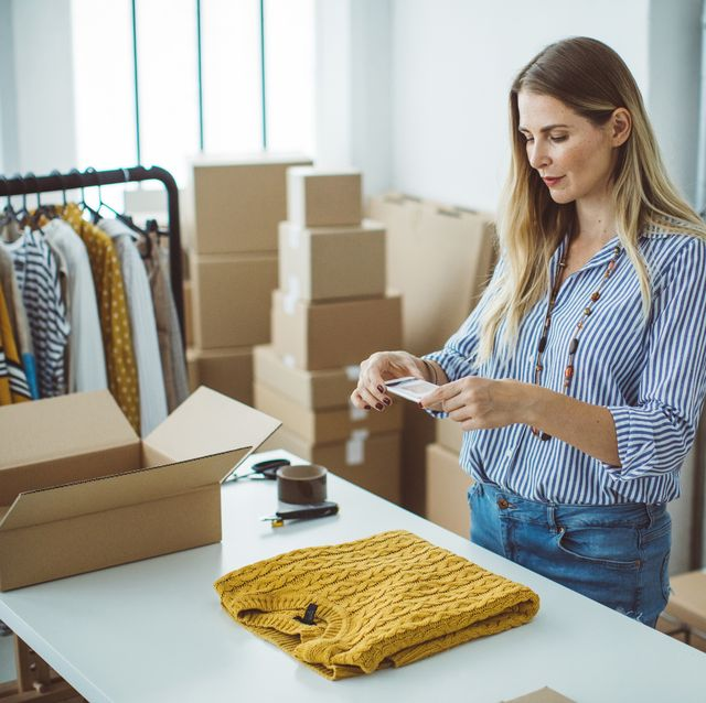 Selling Clothes Online Is a Cinch With One of These Easy Apps