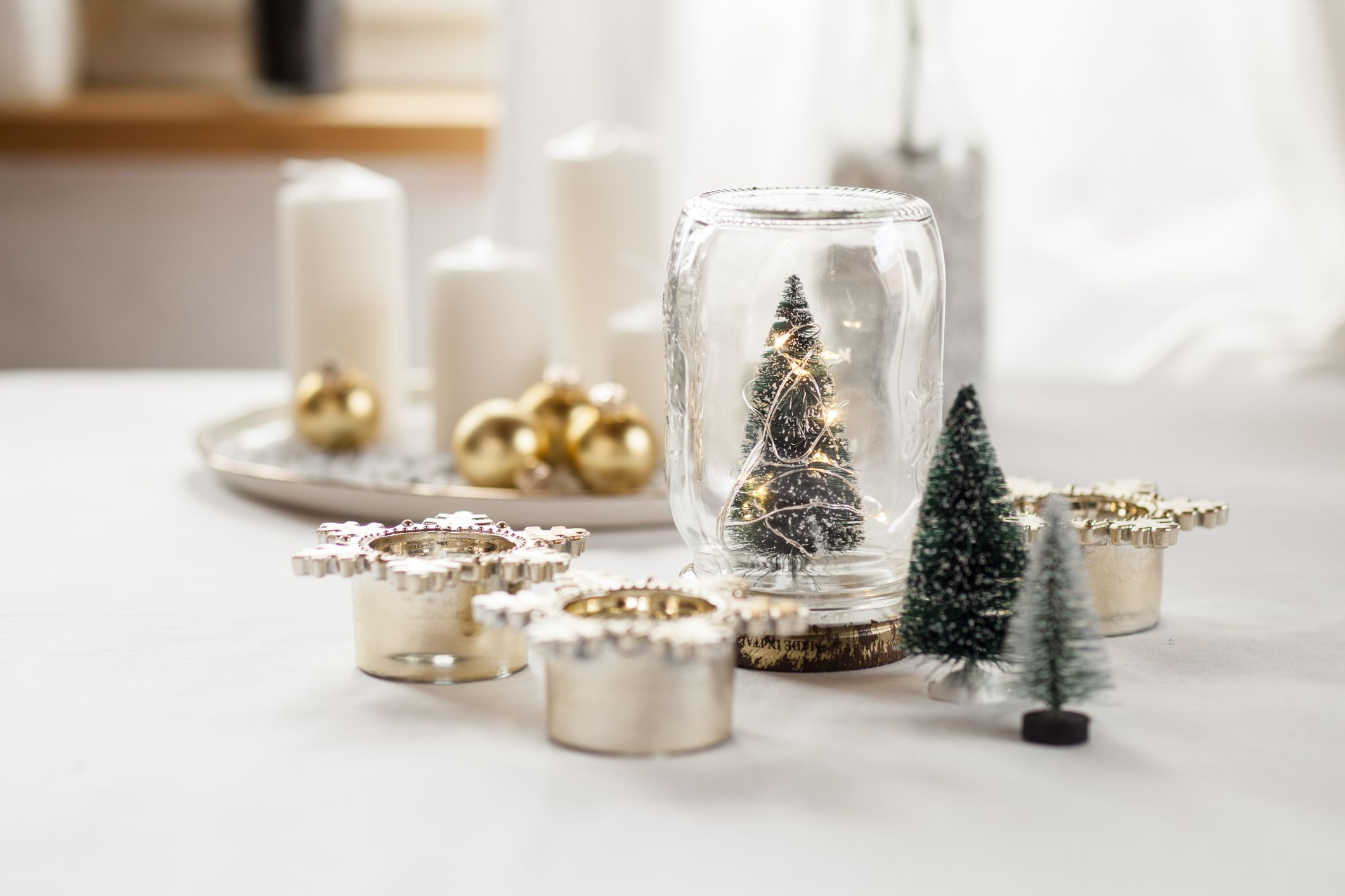 30 x Prices White Household Candles Decorative Christmas