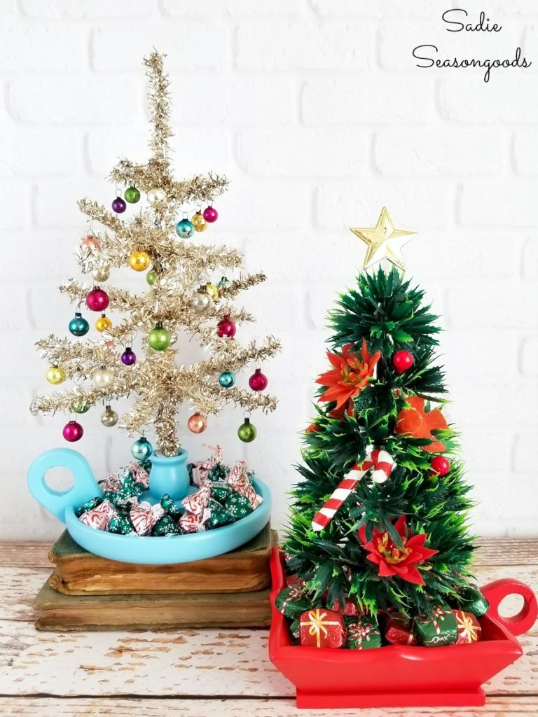48 Best Small Christmas Trees Ideas For Decorating Mini Trees