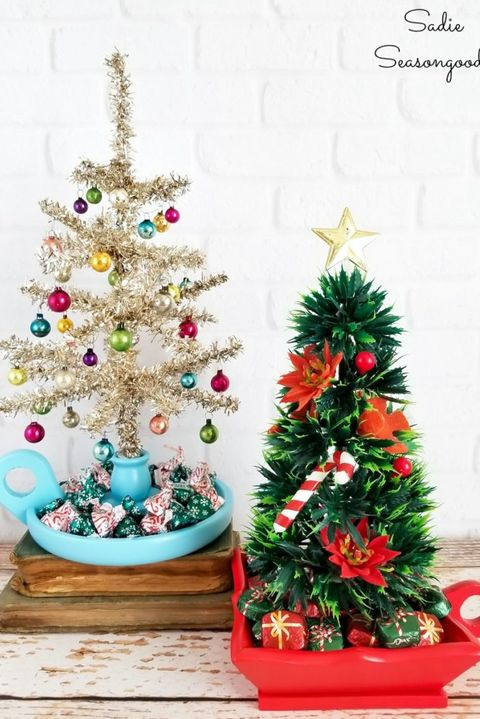 Mini Christmas Tree Ornaments.37 Best Small Christmas Trees Ideas For Decorating Mini