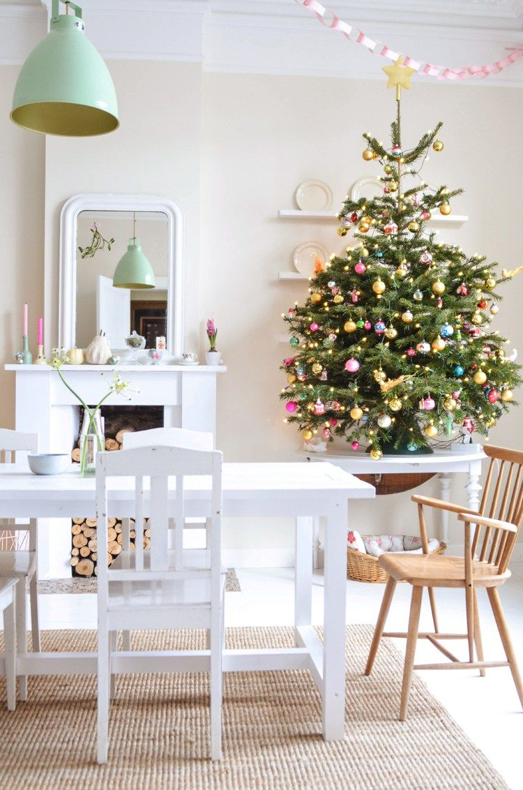 30 best small christmas trees ideas for decorating mini christmas trees - How To Decorate A Small Christmas Tree