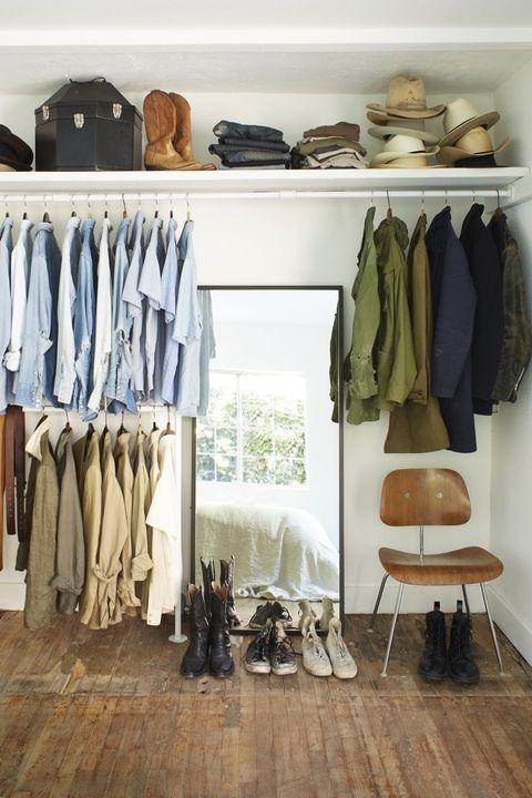 15 Best Small Closet Organization Ideas Storage Tip For Small Closets,Ant Anstead Christina Tarek El Moussa