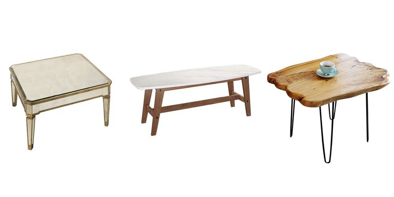 20 Best Small Coffee Tables - Furniture For Small Spaces