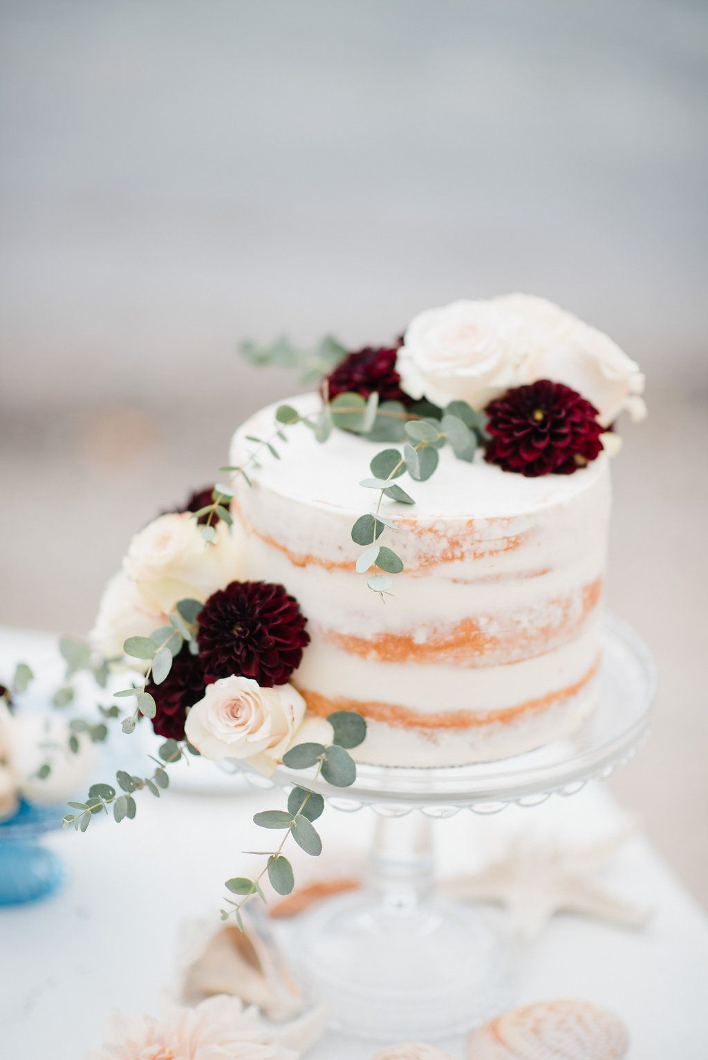 small fall wedding cake