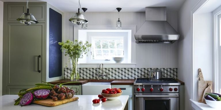 Grey Galley Kitchen Paint Colors
