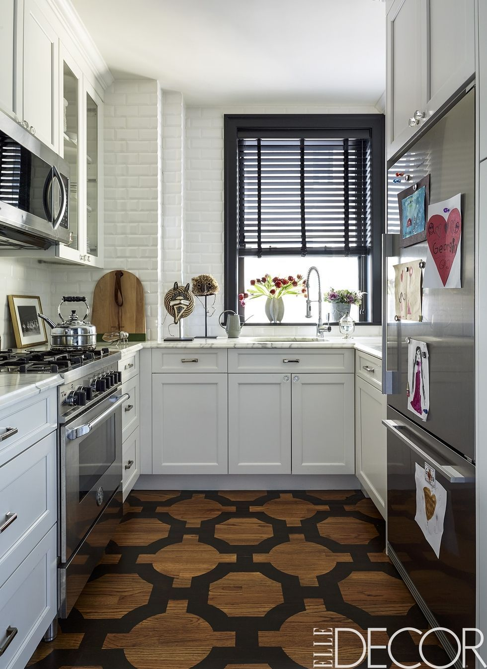 Marvelous 50 Small Kitchen Design Ideas Decorating Tiny Kitchens Rh Elledecor Com  Small White Kitchen Design Images