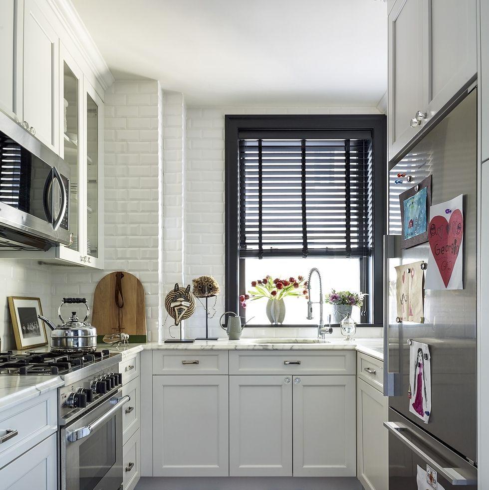 50 small kitchen design ideas - decorating tiny kitchens