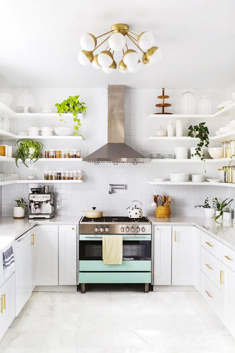 30 Best Small Kitchen Design Ideas - Tiny Kitchen Decorating