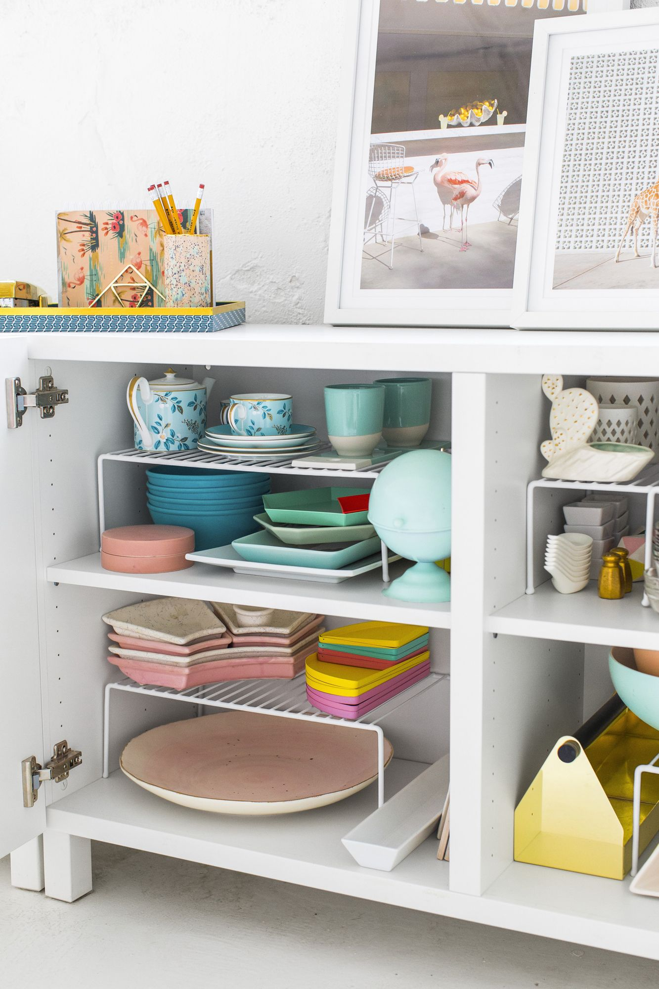 Small Space Kitchen Organization