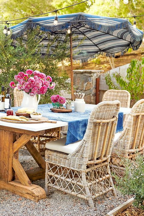 small patio ideas umbrella