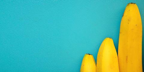 Blue, Yellow, Green, Turquoise, Aqua, Banana family, Teal, Majorelle blue, Banana, Plant,