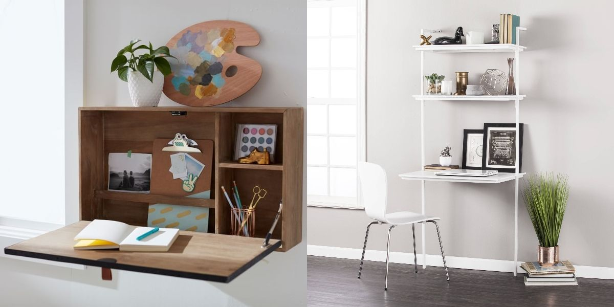 Image of: 23 Best Desks For Small Spaces Small Modern Desks