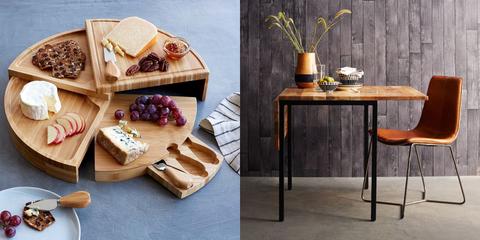 Table, Coffee table, Furniture, Room, Interior design, Cutting board, Wood,