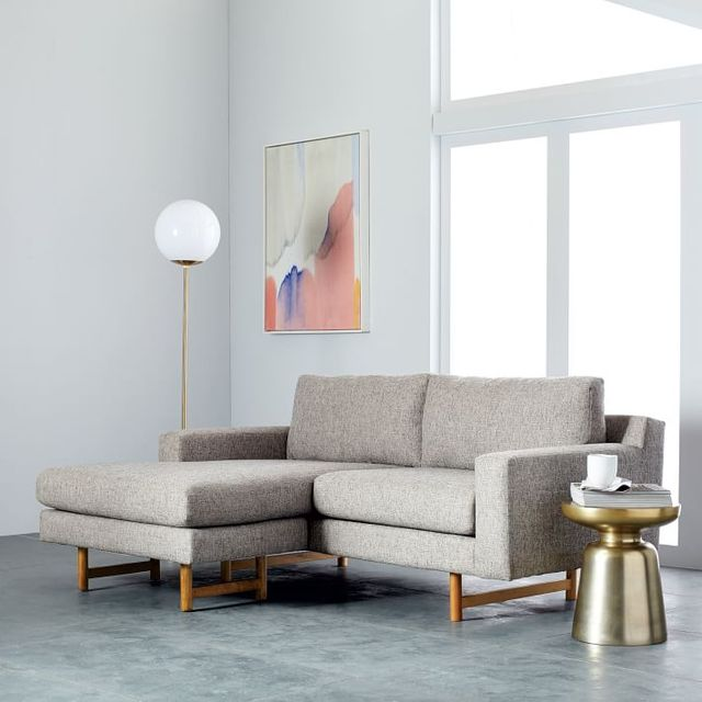 Ivory Wilder Chaise Sectional Sofa