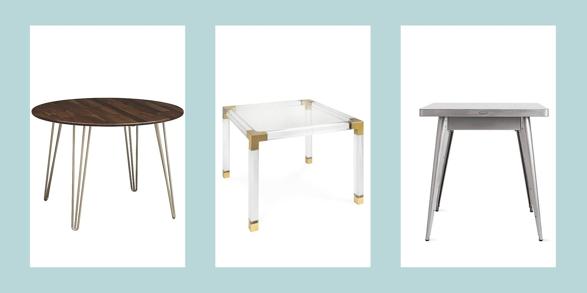 22 Small Kitchen Tables Ideal For Snug Spaces Small Dining Tables