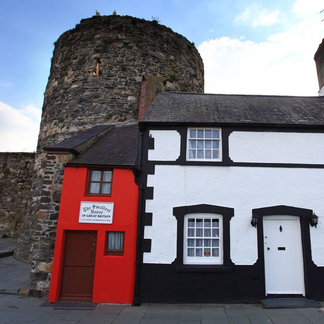smallest house in britain, in conwy, wales