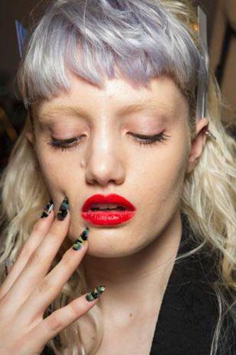 Finger, Lip, Hairstyle, Skin, Eyebrow, Eyelash, Jewellery, Nail, Style, Beauty,