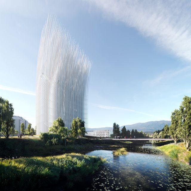 una nueva estructura icono de silicon valley, california