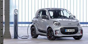 smart EQ fortwo coupé - delantera