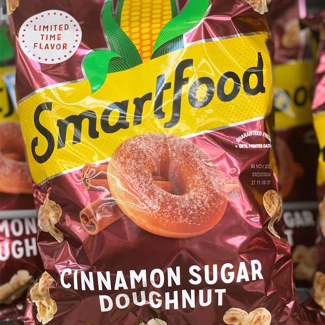 smartfood cinnamon sugar doughnut popcorn