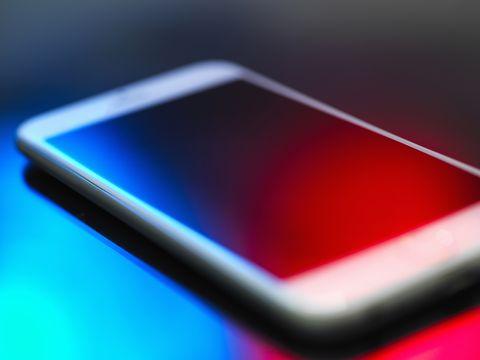 Smartphone, close-up