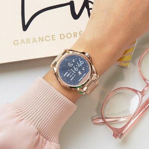 smartwatch michael kors dorado