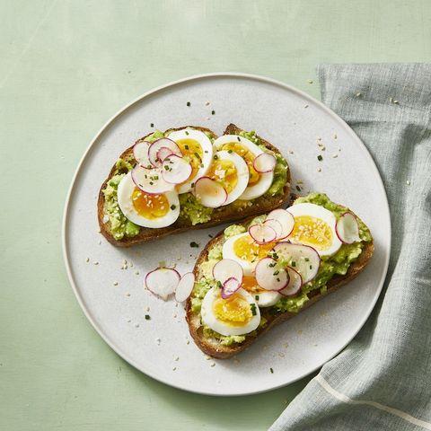 smashed avocado toast with egg recipe