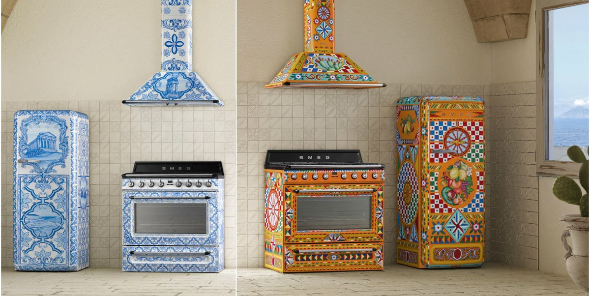 Get A Smeg And Dolce Amp Gabbana Kitchen With Their Divina
