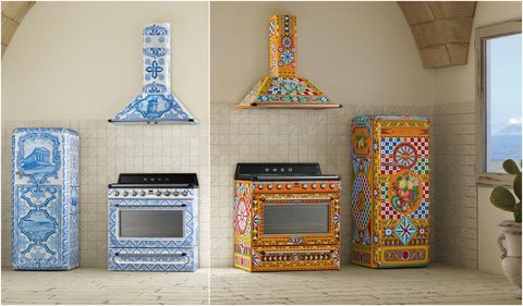 0ad2287aaff Get a Smeg and Dolce   Gabbana Kitchen With Their Divina Cucina ...