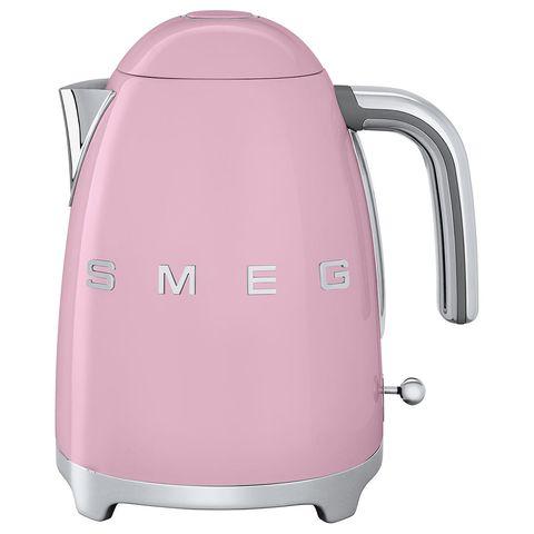Smeg pink kettle