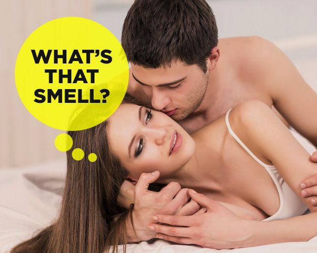Strong vaginal odor durring sex