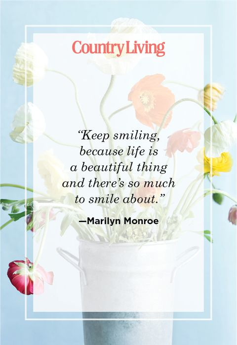 Cute Smile quote by Marilyn Monroe