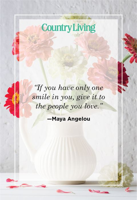 Cute Smile quote by Maya Angelou