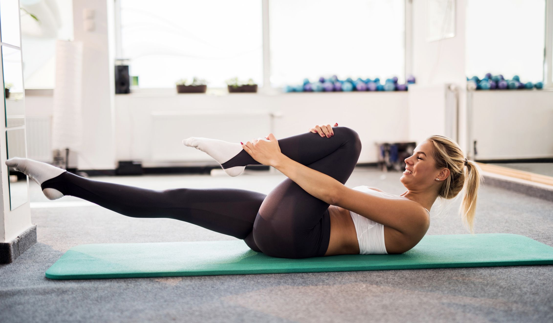 6 pilates moves to strengthen your core from your living room