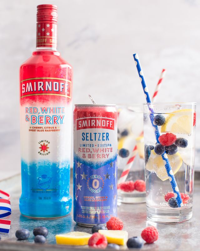 smirnoff red white and berry seltzer