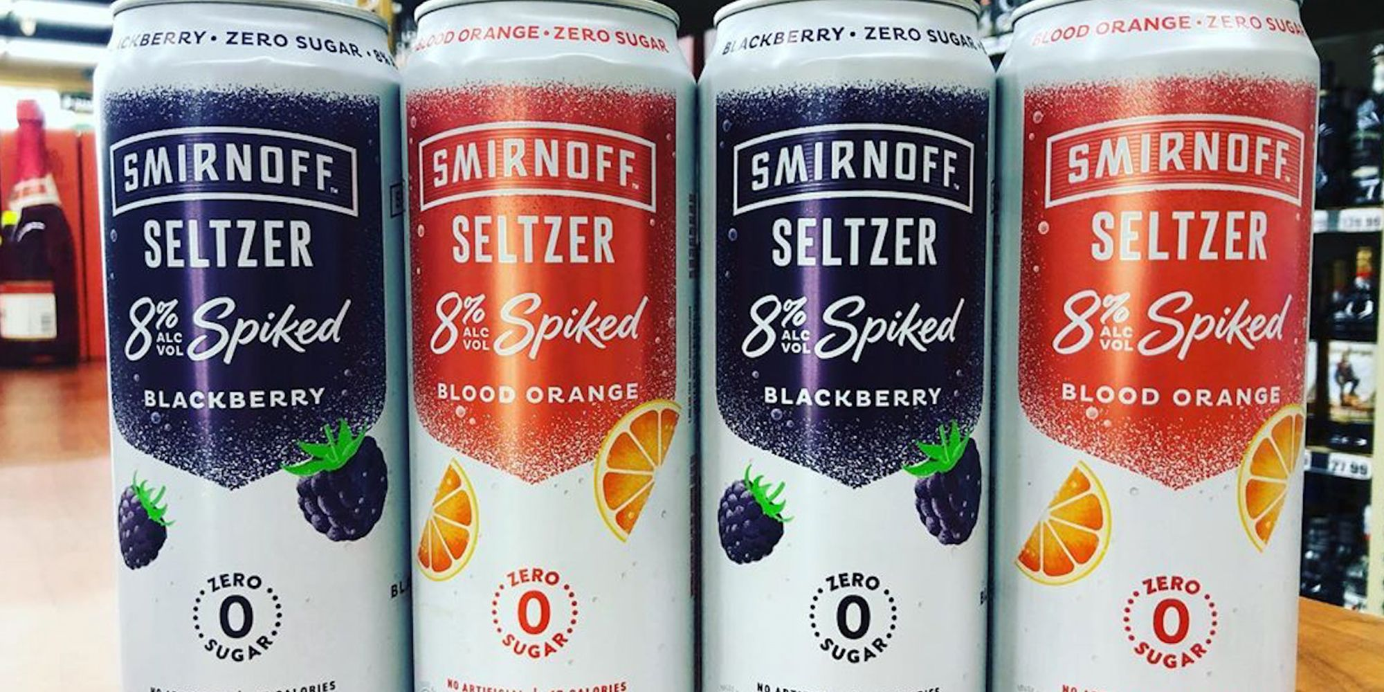 Smirnoff Has a New Hard Seltzer That Has Nearly Double The Alcohol As The Original