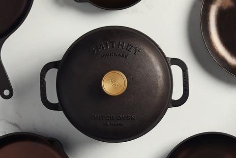 smithey ironware dutch oven