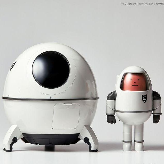 韓國sticky monster lab sml 過去曾變身過各種角色,而這一次sml怪物換上一身靚白的太空衣,搭上超可愛迷你太空船,帶領大家一同探索宇宙!