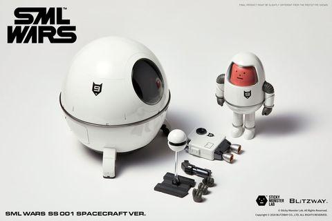 韓國的「sticky monster lab sml黏黏怪物研究所」,這一次讓sml怪物換上一身靚白的太空衣,搭上超可愛迷你太空船,帶領大家一同探索宇宙!