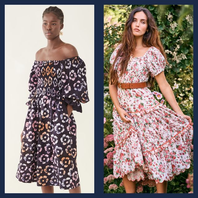pretty smocked dresses to add to your wardrobe post pandemic