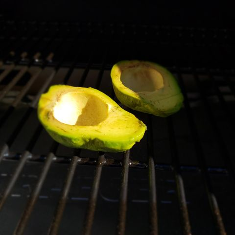 smoked avocado men's health bbq