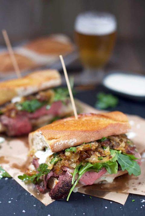 Prime Rib Steak Sandwiches