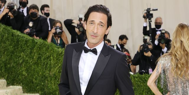 new york, new york   september 13 adrien brody attends the 2021 met gala celebrating in america a lexicon of fashion at metropolitan museum of art on september 13, 2021 in new york city photo by mike coppolagetty images