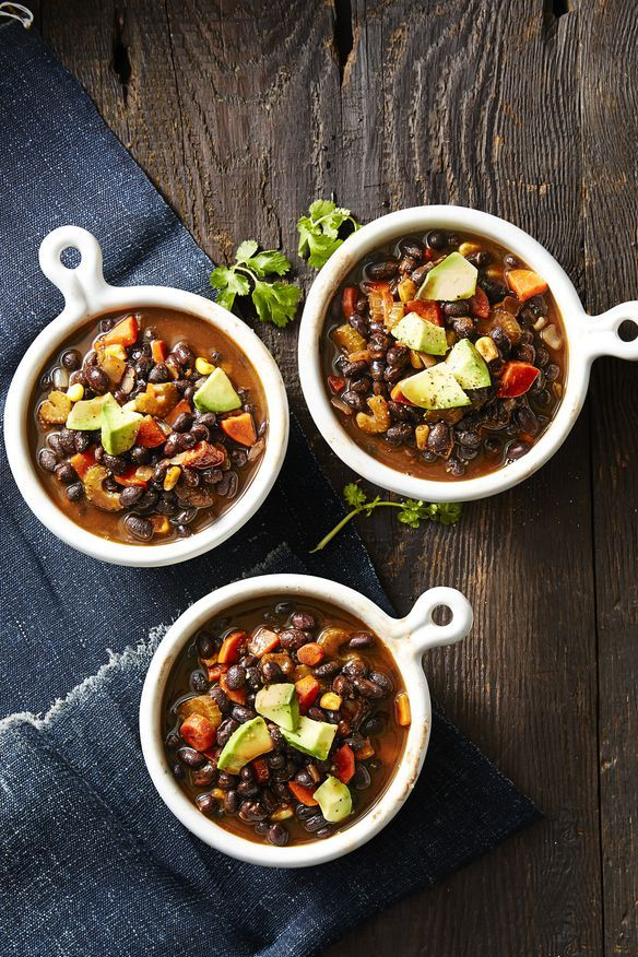 Fall Soups Smoky Vegan Black Bean Soup