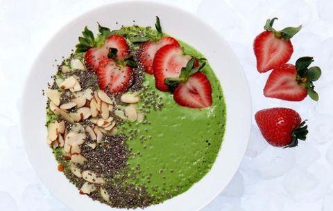 Food, Strawberries, Strawberry, Dish, Cuisine, Ingredient, Dessert, Produce, Cake, Plant,